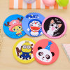 Wholesale Cartoon 2D Flat Rubber Beverage Soft PVC Coaster, Drink Coaster