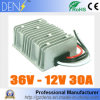Waterproof DC DC Step Down Converter Reducer 36V to 12V 30A Buck Module Car Power Converter Regulator