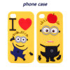 Heart Apple Daddy Minions Silicone Phone Case for Samsung G530 S6 S6edge S4 S5 5s Se (XSXH-009)