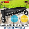 "Lawn Core Plug Aerator 35"" Pull Behind Ride on Mower Great Active"