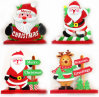 OEM Christmas Wooden Decoration and Craft for Promotional Gift