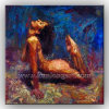 Wall Decoration Nude Art Oil Painting on Canvas (KLNA-0002)