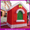 Outdoor Huge Christmas House with Door for Inflatable Christmas Decoration