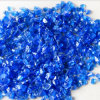 Cobalt Blue Crushed Fire Glass