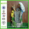 Water Feature Eagle Craft Ornament Resin Birdbath Fountain (NF82158)