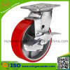 Side Brake Type Medium Heavy Duty Swivel Caster