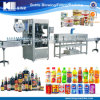 Full Automatic Top Bottom Sleeve Labeling Machine