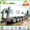 Sunken Lower Loading Deck Low Bed Truck Trailer