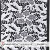 Knitting Stretch Flower Lace Fabric for Dresses (M1033)