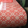 Beautiful Decorative Pattern Prepainted Galvanized Steel Coil