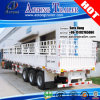 40ft Flatbed Cargo Curtain Side Detachable Side Wall Semi Trailer