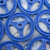 Blue Sand Casting Wheels Provided