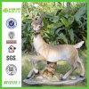 Premium Feel Handicraft Graphic Deer /Elk Resin Craft (NF12172-1)