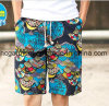Printed Man′s Board Shorts, Dry Quickly Nylon Fabric Beach Shorts
