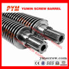 Twin Screw Barrel 51/105 Bimetalic Extruder PVC Sheet