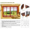 Feelingtop Insulating Glass Interior and Exterior Sliding Door (FT-D126)