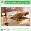 Custom Modern Style Assembled Multistorage Home Furniture Double Bed