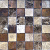Copper Mosaic Mixed Stone Tile for Kitchen Backsplash A6YBS030