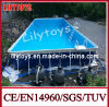 Steel Frame Pool with Water Park Equipment