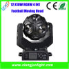 New 12X10W RGBW 4 in 1 Football LED Moving Head