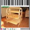 Luxury Design Supermarket Wooden Bread Rack Display
