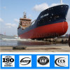 ISO Certificated Pneumatic Inflatable Floating Natural Rubber Marine Ship Boat Launching Airbags