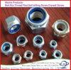 High Precision Galvanized DIN982/985 Nylock Nuts