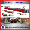 WPC PVC Outdoor Decking Profile Making Machine