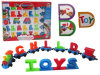 DIY Building Blocks Letter Train Educational Toy 54214