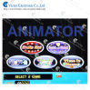 Gaminator Casino Game Boared 5 in 1 V1 (original win rate 80%-86%, setting 1, 2, 3, 4)