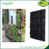 Onlylife Reusable Black Felt Multipurpose Pockets Hanging Planter Vertical Planter