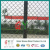 PVC Coated Chain Link Fence / Chain Link Wire Mesh Garden Fence