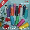 2014 Hot Sale Dyed Linen /Hemp Yarn