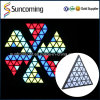Wedding Decoration Super Brightness RGB Backdrop 3D LED Triangel Panel Light