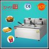 17L Two Tanks Two Baskets Electric Deep Fryer with Good Quality Thermostate