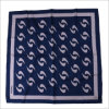New Design Uniform Printed Silk Polyester Logo Scarf (SF-007)