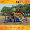 Children Plastic Outdoor Playground, Low Price Creative Design Kids Slides
