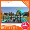 GS Approved 2017 Kid Plastic Slide Outdoor Playground for Children