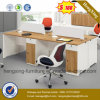 Melamine Office Desk 4 Persons Office Partition Outlet Workstation (HX-PT5005)