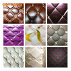 Soft Hand Feeling Cheap PVC Mirror Synthetic/Artificial Leather