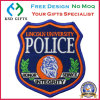 Free Design No MOQ, 24 Hours Customized Police Garment Patch