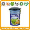 Round Tea Can for Tea Caddy Package, Tea Tin Box