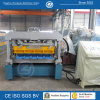 Glazed Aluminum Roofing Step Tile Making Machine