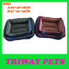 High Quaulity Denim & Printed Fabric Pet Bed (WY161029A/B)