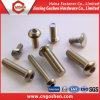 Stainless Steel Machine Screw with Flat, Pan, Hex Head