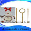 Supply Nice Cake Stand Metal Tool with Ceramic Pan