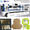 Die Cutting Hot Foil Stamping Embossing Carton Box Making Machine