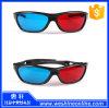 Black Frame Red Blue 3D Glasses for Dimensional Anaglyph Movie Game DVD