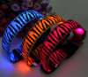 New Design LED Flashing Leopard-Spotted Pet Collars