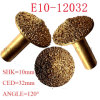 Diamond 3D Engraving Bits for Stone Carving with 120 Degree